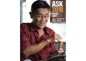 ASK Prayer Diary 2019 - now available