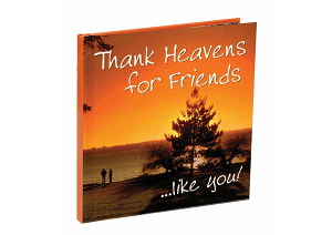 Thank Heavens for Friends... Like You!