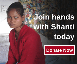 Join hands with Shanti