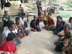 A self-help group meeting in Chittagong